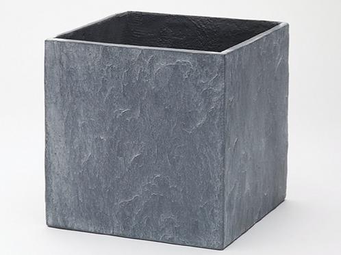 Slate Grey Cube 26cm