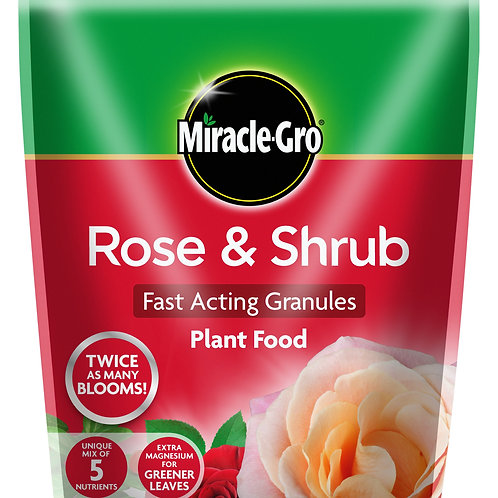 Miracle-Gro Rose and Shrub Fast Acting Granules Plant Food