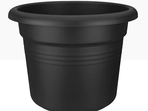 Green basics cylinder living black 30cm