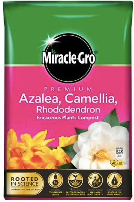 Miracle Gro Azalea, Camellia and Rhododendron 40L