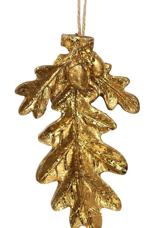 copy of Gold Resin Leaf Decoration