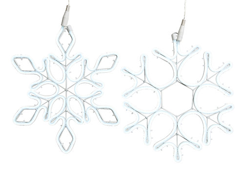 LED neon flex snowflake