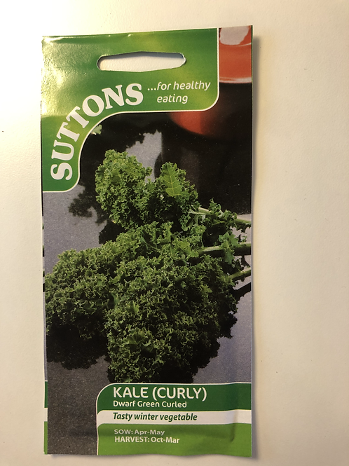 Kale (Curly) 'dwarf green curled'
