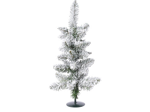 Snowy Pencil Pine Mini Tree