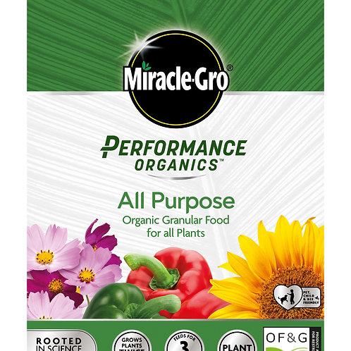 Miracle-Gro Performance Organics All Purpose Granular Food