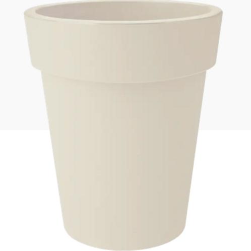 Top Planter high cotton white 35cm