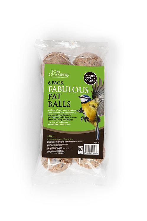 6 pack Fabulous Fat Balls