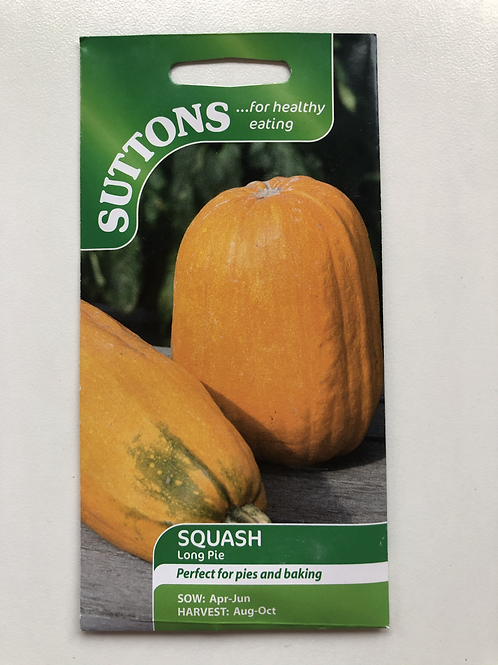 Squash 'Long Pie'