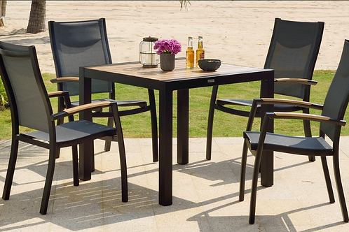Lifestyle Garden 4 Seater Panama Dining Set