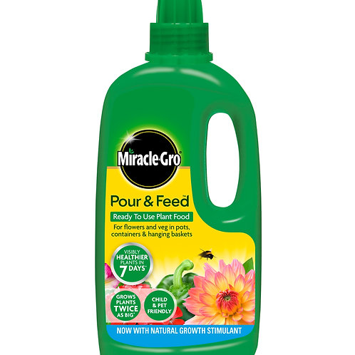Miracle Gro Pour and Feed Plant Food