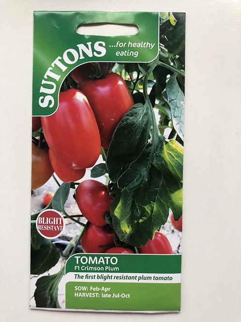 Tomato F1 Crimson Plum