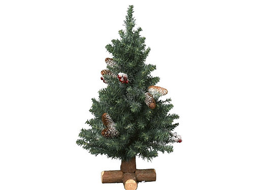 Frosted Sherwood Mini Tree- 75cm