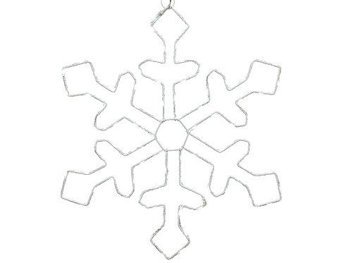 micro LED twinkling snowflake