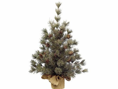 Mini Tree Hardneedle with pinecones
