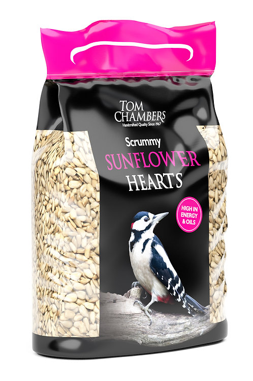 Scrummy Sunflower Hearts 2.5kg