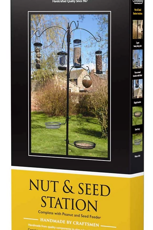 Nut and Seed Bird Station