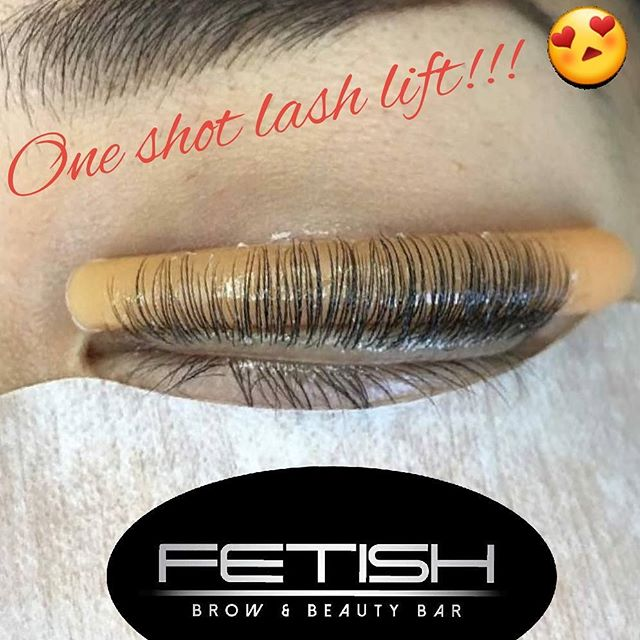 Lash Lift in progress!!! These are going to be amazing!😍😍 Lash lifts enhance your natural lashes a