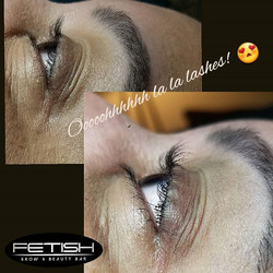 In love with these lash lifts!! No falsies,  glue strips or extensions! A natural curl and length.jp