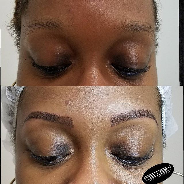 👀👀👀_I am head over heels with this dope womans brow transformation 😍😍😍_It was a pleasure givin