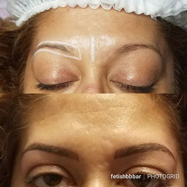 No more brow pencil for 2018. 🎉🎉 Microblading will save you so much time getting ready everyday. W