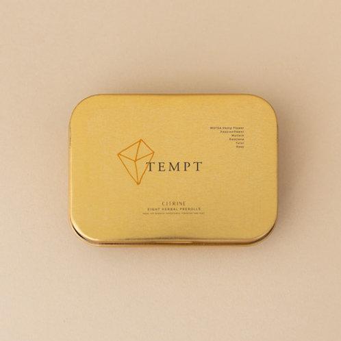 Citrine Hemp Herbal Pre Rolls - TEMPT