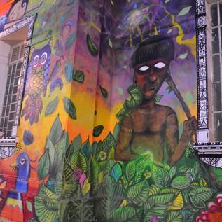Graffit na estação