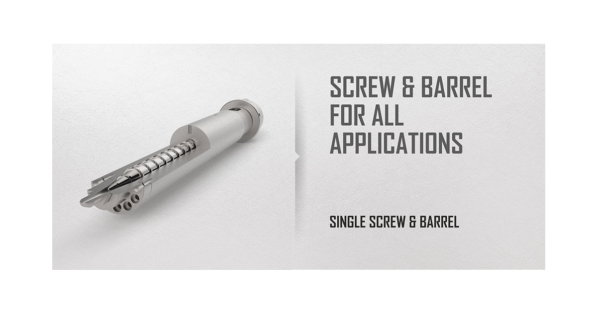 single screw slider