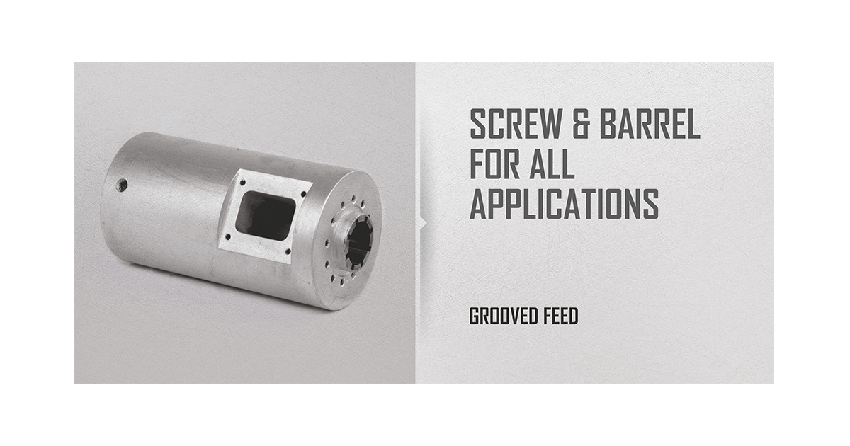 grooved feed slider