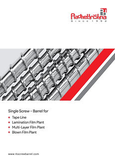 Brochure - Blown Film-Multilayer-Tapline