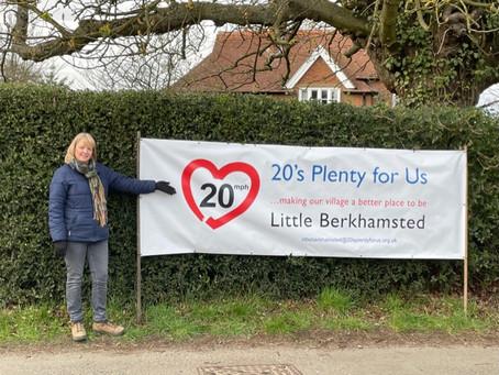 20's Plenty for Little Berkhamsted