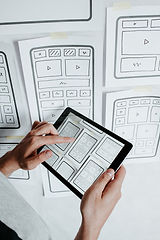 UX - user interface, user experience des