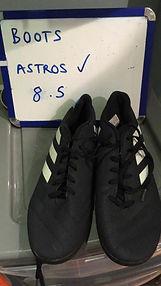 Astros (8.5)