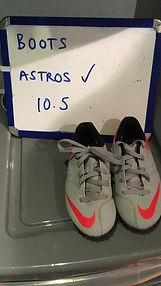 Astros (10.5)