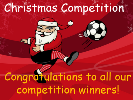 🎄 XMAS Competition Winners! 🎁