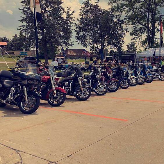 Motorcycle Ride K9 Fest