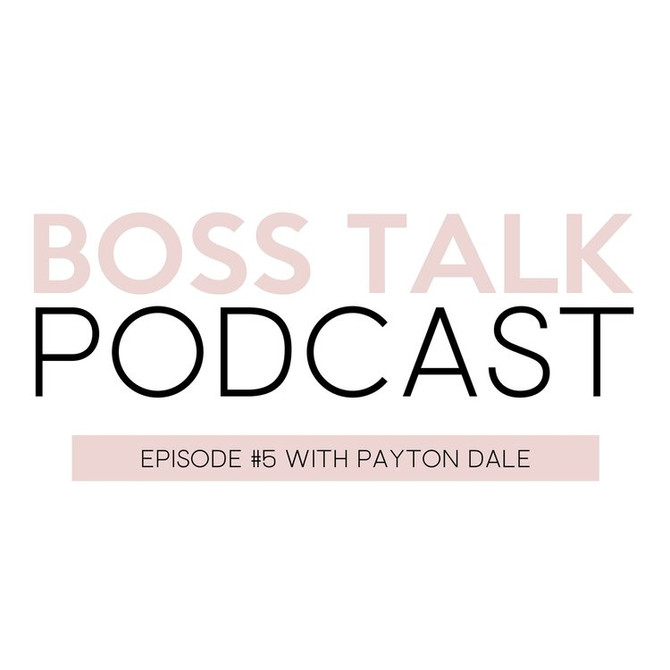 I was on the Boss Talk Podcast!
