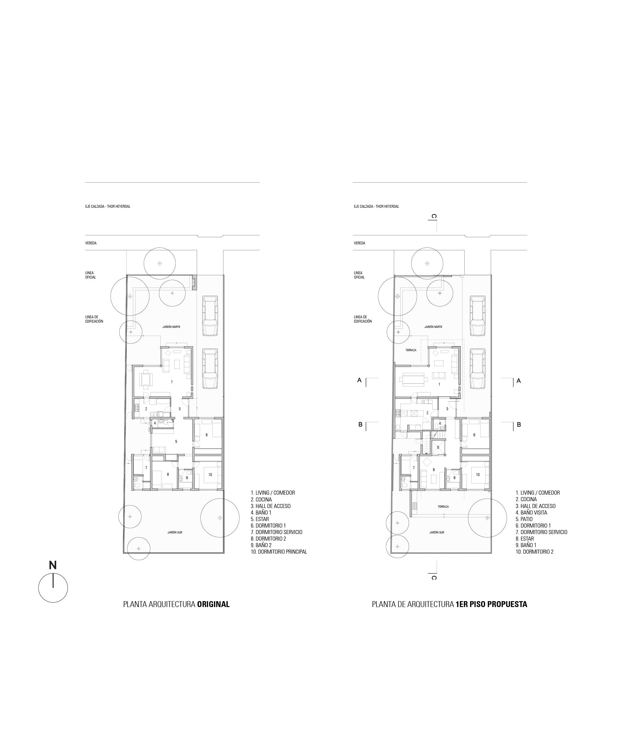 Arquitectura 1er Piso GA