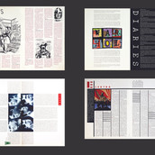 Warner Communications (TimeWarner), Corporate Magazine Design, Interiors