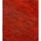 """""""Argyle #2"""" 1985, Acrylic and Chalk on Canvas, 25""""x31"""""""