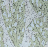 """Celery Tonic"" 2017, Acrylic, Pencil on Paper, 8.5""x11"""