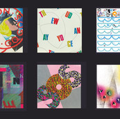 "Typograhic Interpretations, Go-Go's Album, ""Vacation"""