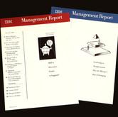 IBM Management Report, Cover Design