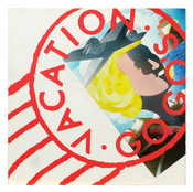 """Vacation (Cover)"" 1985, Mixed Media, 12""x12"""