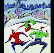 Christmas Card, Fashion Institute of Technology