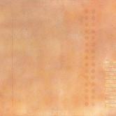 """Progression"" 1972, Enamel, Pencil, Acrylic on Canvas, 30""x72"""