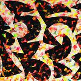 """Tweedle Dumb"" 2017, Acrylic on Paper, 12.5""x19"""