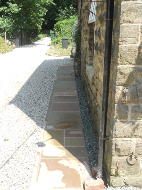Chapel path built