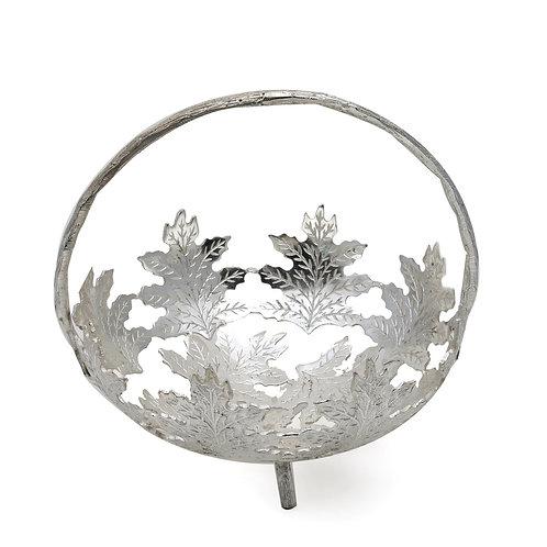 Silver maple basket