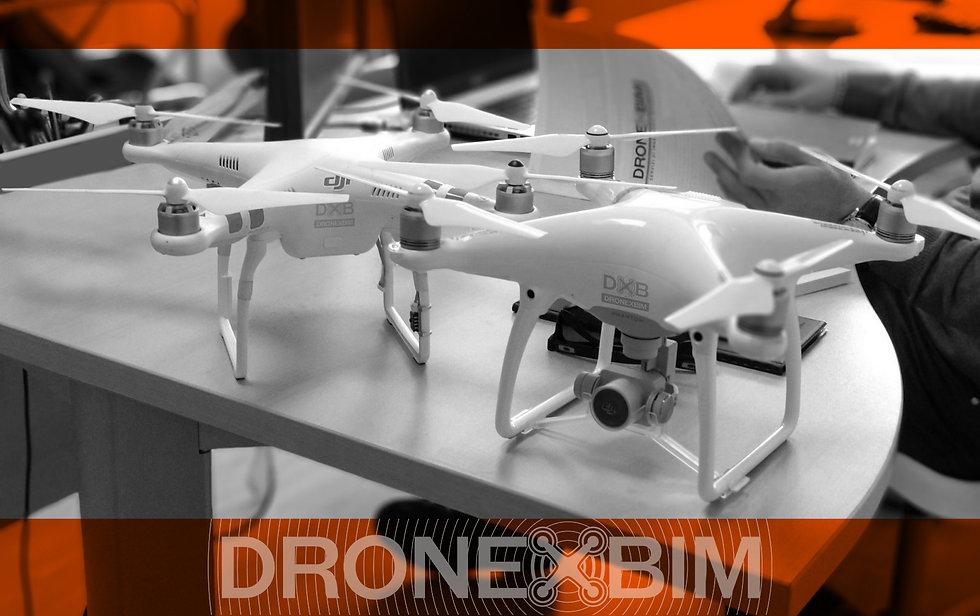Flotta Droni per rilievo e fotogrammetria Dronexbim