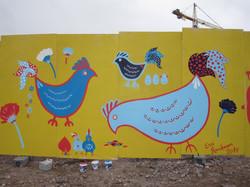my very first street art piece